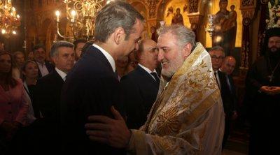 Ακυρώνεται η ξενάγηση Μητσοτάκη από τον Αρχιεπίσκοπο Ελπιδοφόρο - Άγνωστο πότε θα συναντηθούν