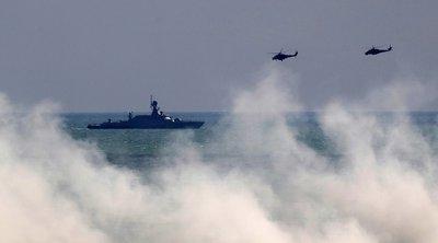 Ρωσία: Το πολεμικό ναυτικό εξασκείται στη στη Μαύρη Θάλασσα, ενώ Ουκρανία-ΗΠΑ πραγματοποιούν κοινές ασκήσεις