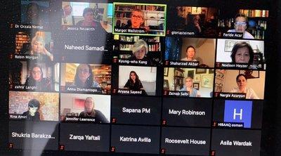 Παγκόσμια κίνηση «Φόρουμ Γυναικών για το Αφγανιστάν» με τη συμμετοχή της Άννας Διαμαντοπούλου