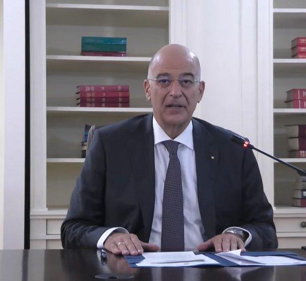 Ν.Υόρκη: Ο Δένδιας ενημέρωσε τους ΥΠΕΞ της ΕΕ για την τουρκική προκλητικότητα – Παρουσίασε χάρτη για το περιστατικό στην Κρήτη