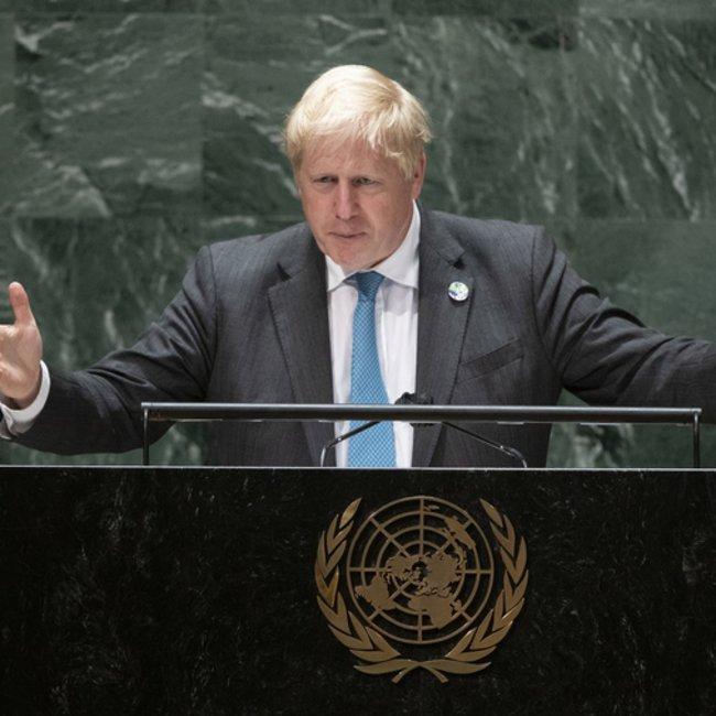 Με αρχαία ελληνικά η ομιλία του Μπόρις Τζόνσον στον ΟΗΕ - Βίντεο