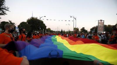 Θεσσαλονίκη: Ολοκληρώθηκε η πορεία υπερηφάνειας του 9ου Thessaloniki Pride