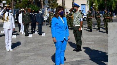 Η Πρόεδρος της Δημοκρατίας τίμησε τον Καποδίστρια στο Ναύπλιο