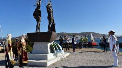 Πατούλης: Τιμάμε το λαμπρό παρελθόν της Σαλαμίνας με το βλέμμα στραμμένο στο μέλλον