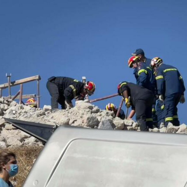 Ισχυρός σεισμός στην Κρήτη: Ένας νεκρός - Έντεκα τραυματίες - Μεγάλες ζημιές - ΒΙΝΤΕΟ-ΦΩΤΟ