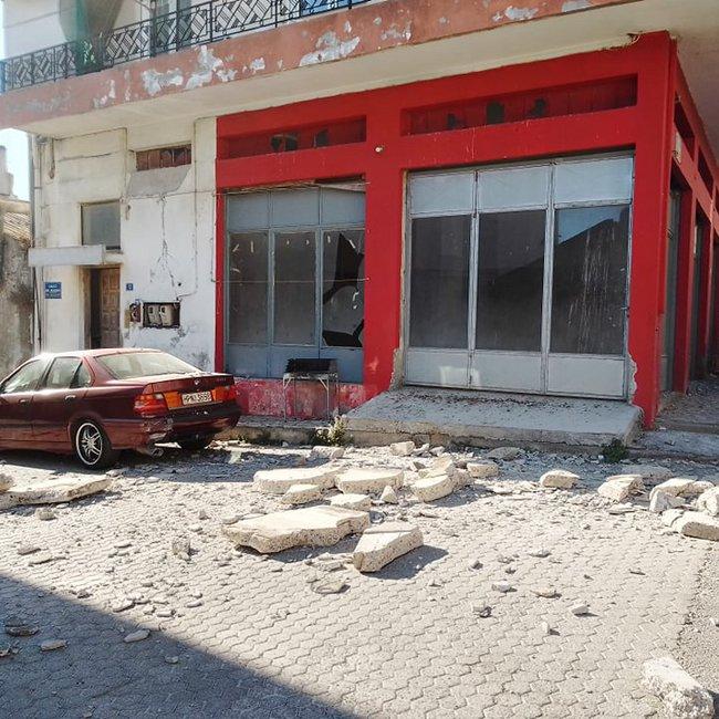 Iσχυρός σεισμός στο Ηράκλειο Κρήτης: Ζημιές σε κτίρια - Πληροφορίες για εγκλωβισμένους