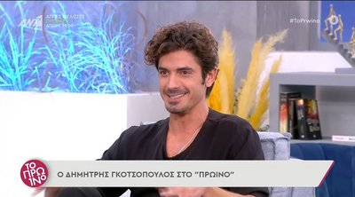 Γκοτσόπουλος: Πήγα στη Λέρο για να μελετήσω τον ρόλο μου στις «Μέλισσες» - ΒΙΝΤΕΟ