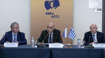 Πρόεδρος ΕΒΕΑ: Δημιουργούνται εξαιρετικές προοπτικές συνεργασίας μεταξύ των επιχειρήσεων Αθήνας και Μόσχας