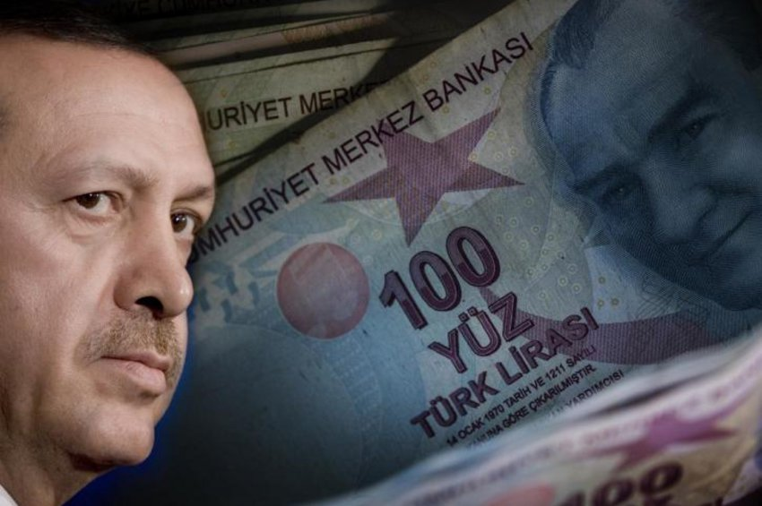 Καταρρέει η τουρκική λίρα, απολύσεις Ερντογάν στην κεντρική τράπεζα