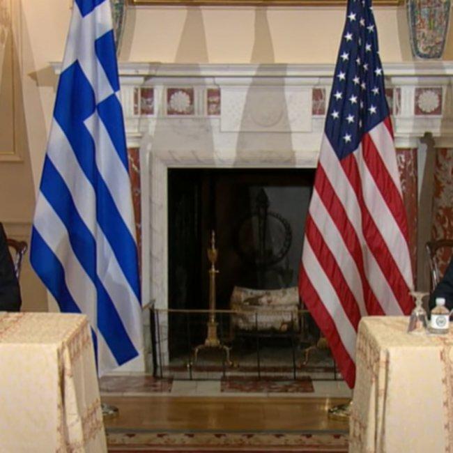 Yπεγράφη η αμυντική συμφωνία Eλλάδας-ΗΠΑ - Δένδιας: Η Ελλάδα αντιμετωπίζει απειλές πολέμου