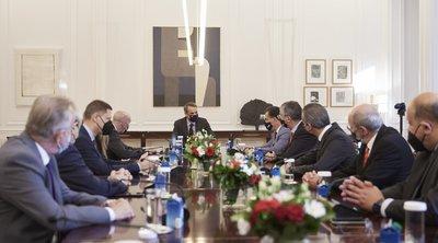 Συνάντηση της Διοικητικής Επιτροπής του ΕΒΕΑ με τον πρωθυπουργό στο Μέγαρο Μαξίμου - Τι συζήτησαν