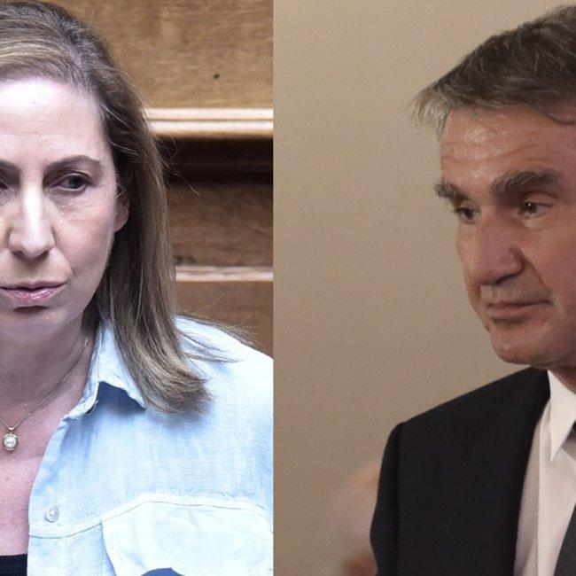 Παρέμβαση Λοβέρδου την ώρα που η Ξενογιαννακοπούλου μιλούσε στον Realfm 97.8 σε ερώτηση για την εσωκομματική διαδικασία στο ΚΙΝΑΛ - Τι απάντησε η βουλευτής του ΣΥΡΙΖΑ