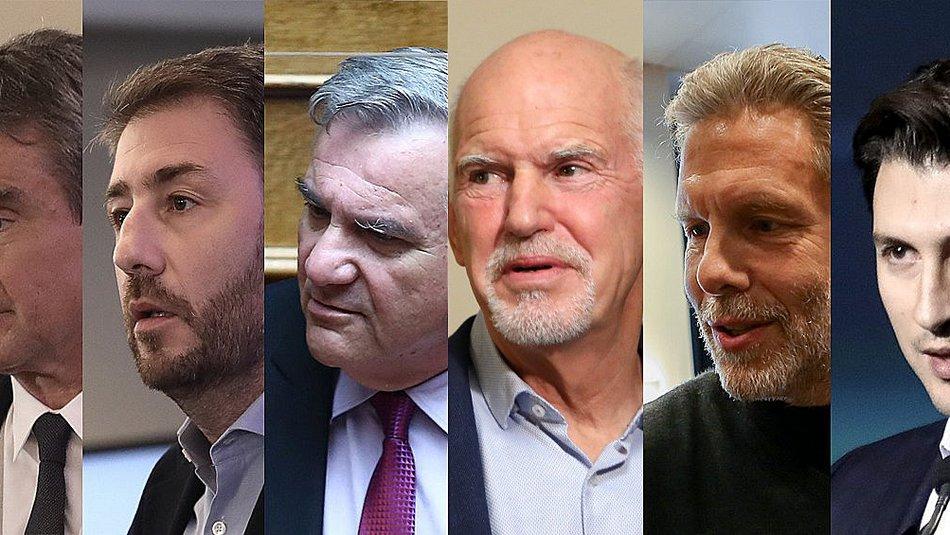 Κίνημα Αλλαγής: Ολοι οι άνθρωποι των υποψήφιων προέδρων