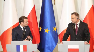 Γαλλία: Ο Εμανουέλ Μακρόν υποδέχεται τον Πολωνό πρόεδρο μεσούσης της έντασης με την ΕΕ