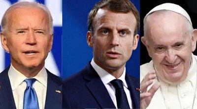 G20: Ο Μπάιντεν θα συναντηθεί την Παρασκευή στη Ρώμη με τον Γάλλο πρόεδρο Μακρόν και τον Πάπα Φραγκίσκο