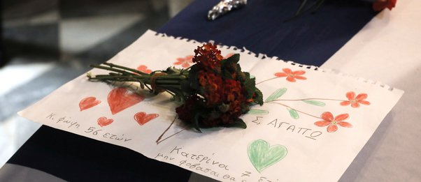 Το συγκινητικό μήνυμα και η ζωγραφιά 7χρονης για τη Φώφη Γεννηματά: «Σ' αγαπώ. Μη φοβάσαι...»
