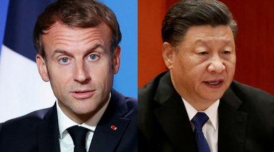 Γαλλία: Επικοινωνία Εμανουέλ Μακρόν με τον Κινέζο ομόλογό του Σι Τζινπίνγκ